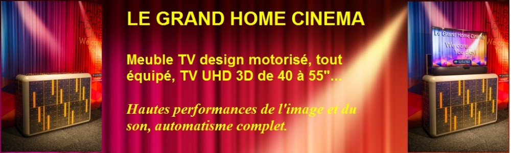 le grand home cin ma meuble tv design motoris. Black Bedroom Furniture Sets. Home Design Ideas